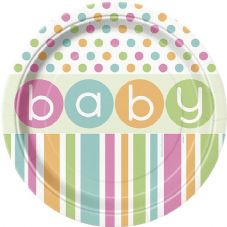 Baby Paper Party Plates